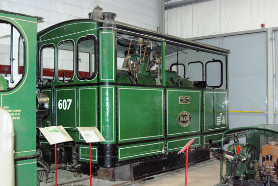 Narrow gauge museum Valkenburg