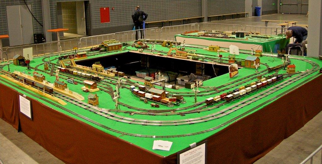 Hornby O-gauge layout