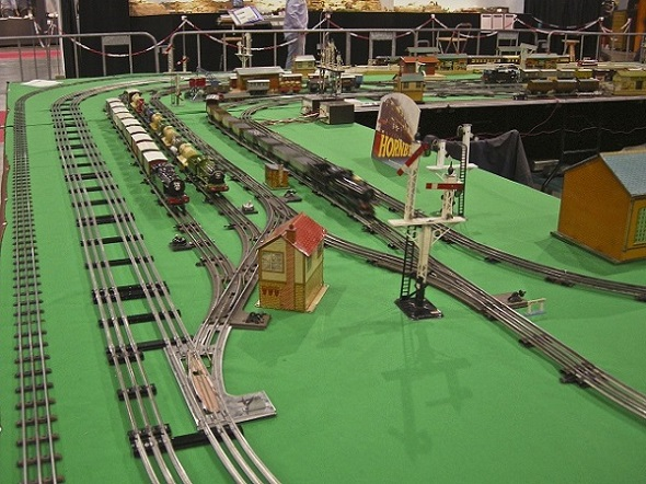 Sidings for made up trains