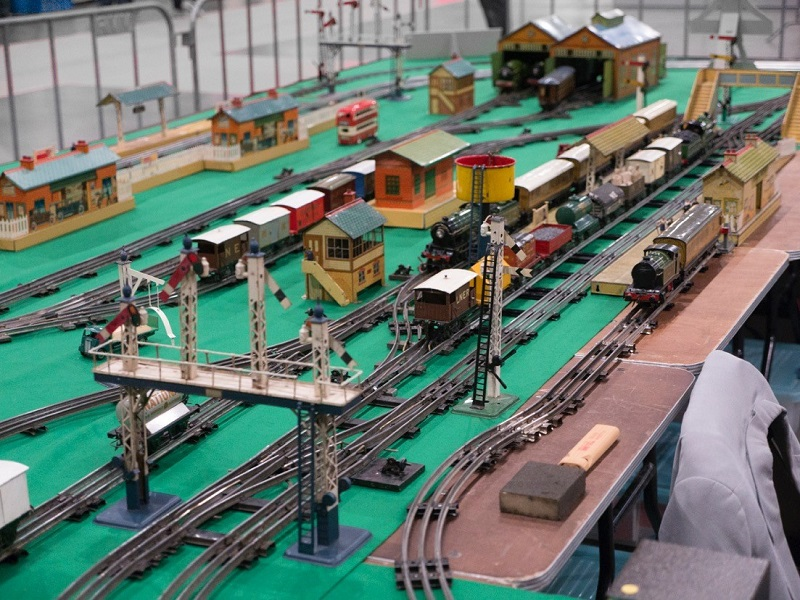 Hornby shunting track