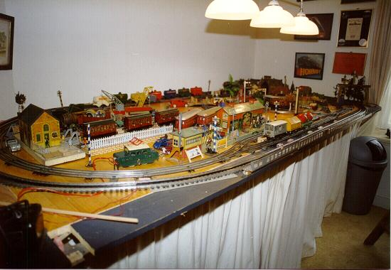 Vintage Hornby layout