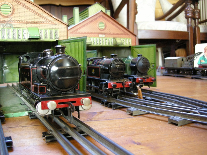 Hornby trains and Dinky Toys