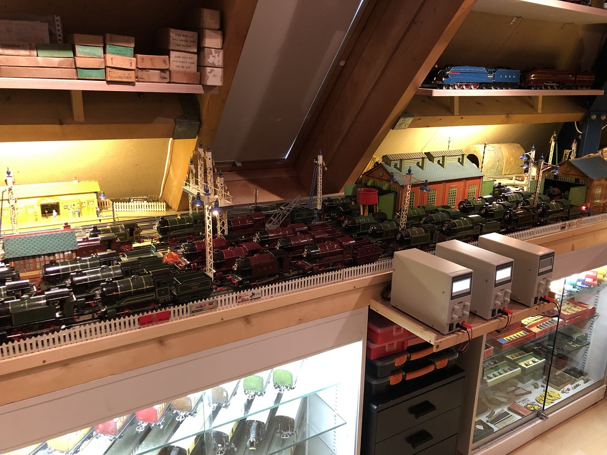 Hornby O-gauge Train room