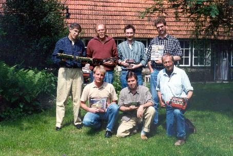 Some members of the Dutch HRCA