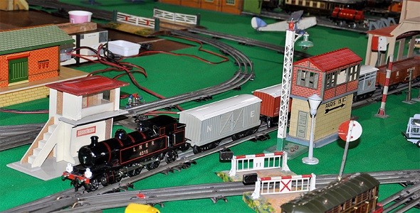 Dutch HRCA Hornby O-gauge layout