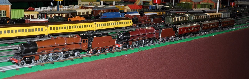 Double-heading with Hornby Princess Elizabeth