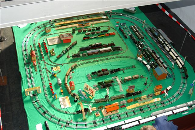 Layout seen from the first floor