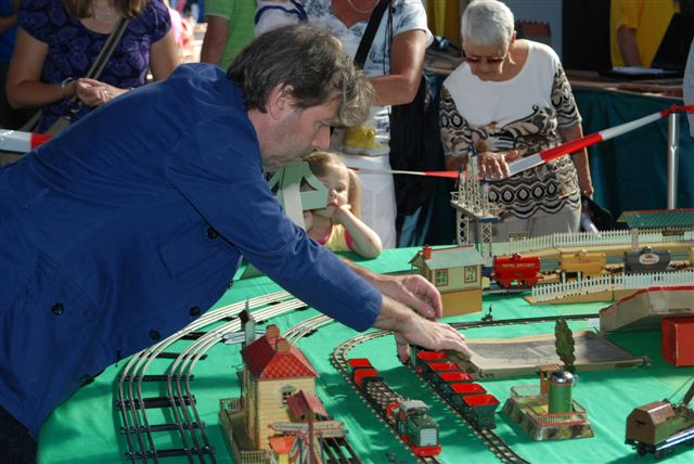 Niek van Ees and his Biller Bahn