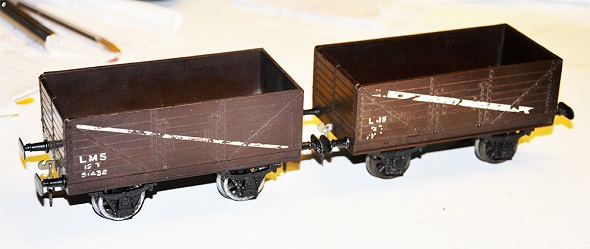 Leeds True Scale Bakelite Wagon