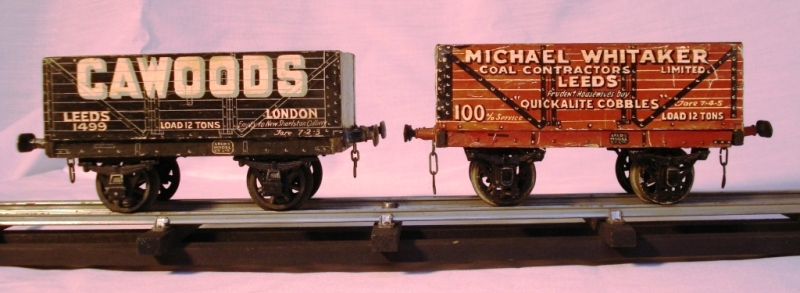 Leeds litho Cawoods and Michael Whitaker Coal Wagons
