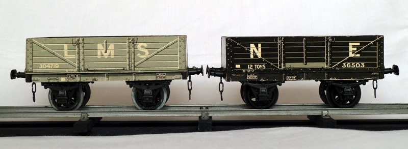 Leeds litho LMS and NE Open Wagons