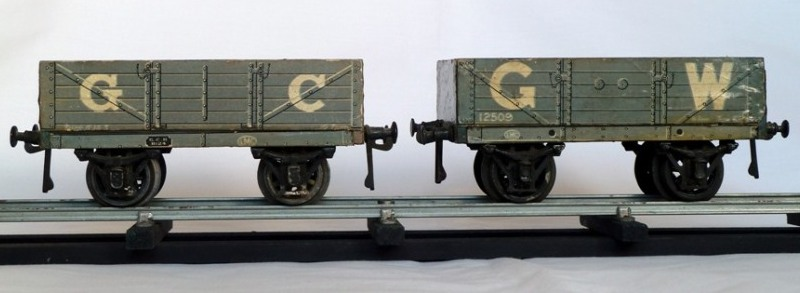 Leeds litho GW and GC Open Wagons