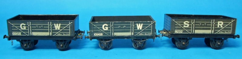 Stronlite Tin Printed GW and SR Open Wagons
